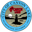 city of canyon lake, california - seal